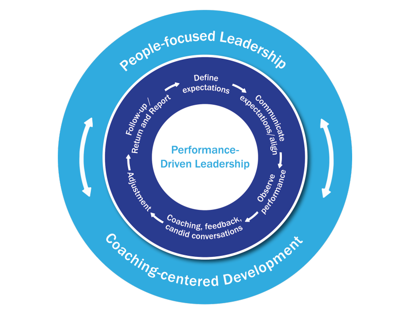 performance driven leadership image